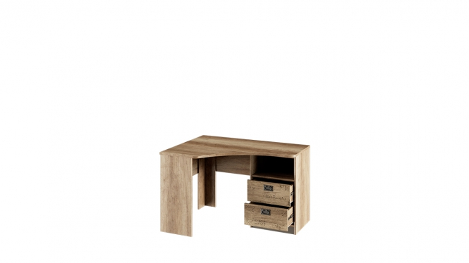 Стол угловой с ящиками «Пилигрим»