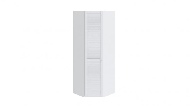 Шкаф угловой с 1-ой дверью левый «Ривьера» Белый/левый